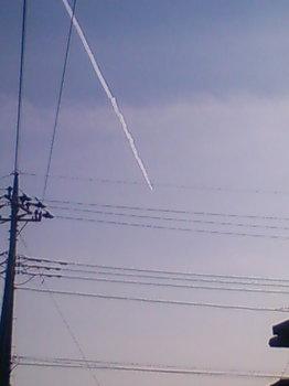 ひこうき雲.JPG